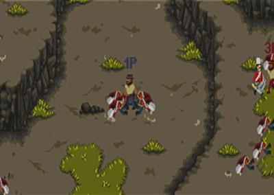 Concept de mecánicas de lucha multijugador colaborativo.