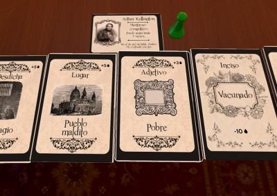 Carroñeros - Juego de mesa - Juego de cartas - Proto Digital 3- Gremio de creadores