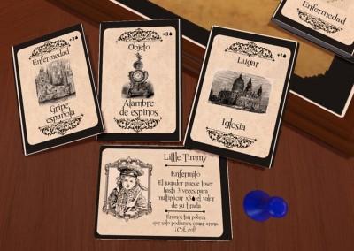 Carroñeros - Juego de mesa - Juego de cartas - Proto Digital 4- Gremio de creadores
