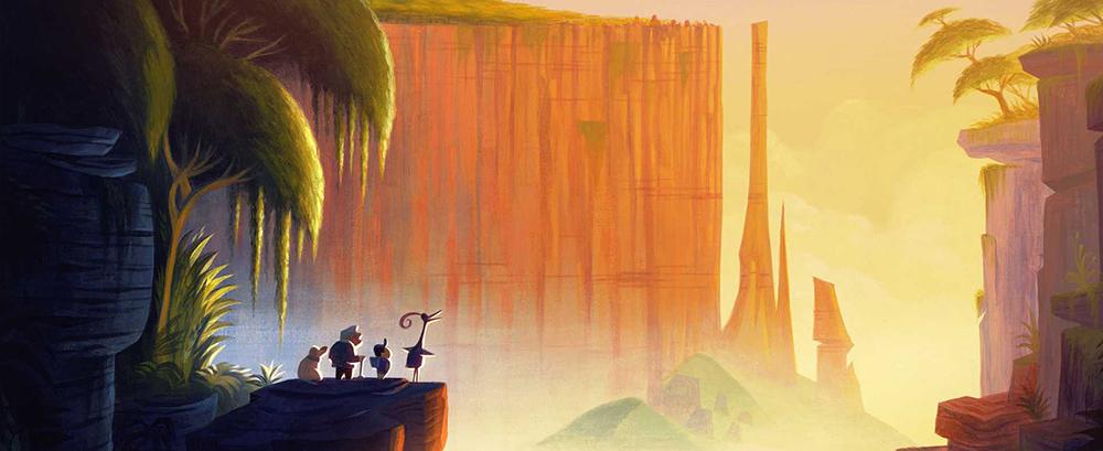 Cómo presentar personajes al estilo Pixar