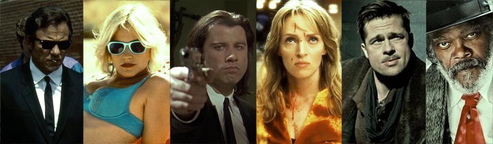 Colección de guiones de Tarantino.